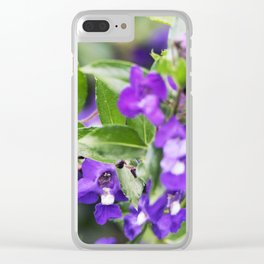 Longwood Gardens Autumn Series 97 Clear iPhone Case