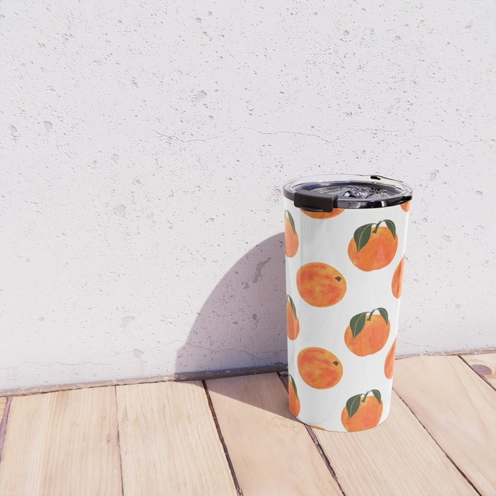 Peach Harvest Travel Mug