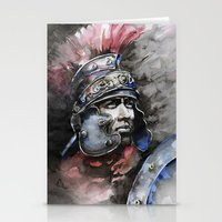 gladiator Stationery Cards featuring Gladiator by Tania Richard
