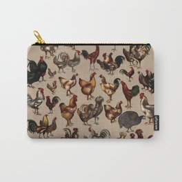 Poultry of the world Affiche Carry-All Pouch
