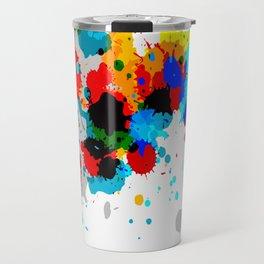 Paint Splash Travel Mug