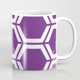 Eminence - violet - Geometric Polygon Pattern Coffee Mug