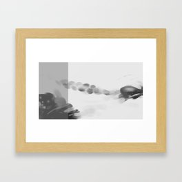 "Tribute to the China Millennium Poem "" Jian Jia"" (a kind of reeds) No. 2 Framed Art Print"