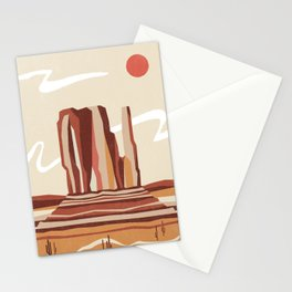 Beyond the Monument Stationery Cards