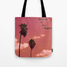 Welcome to Los Angeles Tote Bag
