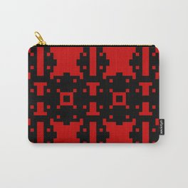 REBEL black and red bold pattern design Carry-All Pouch