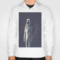 spaceman Hoodies featuring Spaceman by Aeodi Graphics