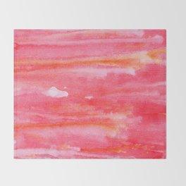 Sunset Waves Throw Blanket
