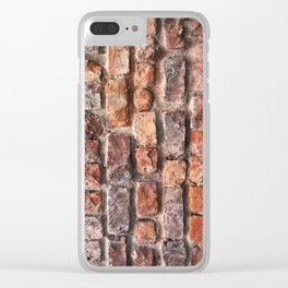Brickwall Clear iPhone Case