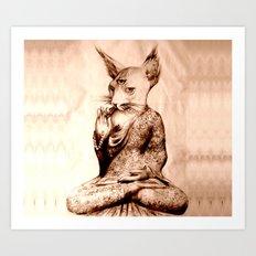 Devi Prayer Art Print