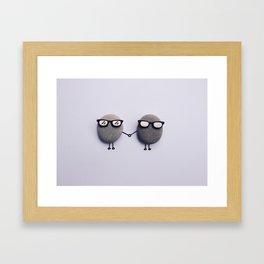 Love Duo Framed Art Print