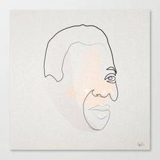 Half a Pelé Canvas Print
