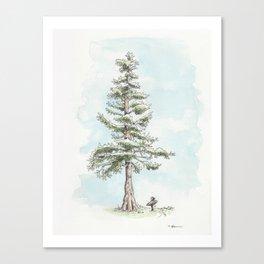 """""""Tall Tree"""" Canvas Print"""