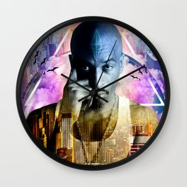 Rakim TheGod MC Wall Clock