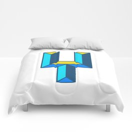 Letter Y Comforters