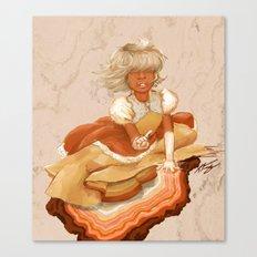 Hindsight Sapphire Canvas Print