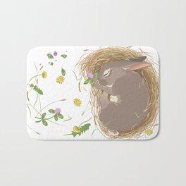 Night-night Bunny Bath Mat