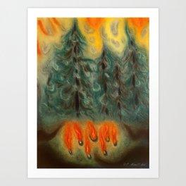 The Coven Art Print