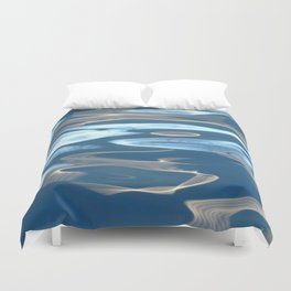 H2O # 29 - Water abstract Duvet Cover