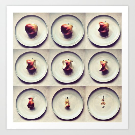 Apple life Art Print