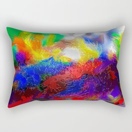 Feather Boa - New Orleans Rectangular Pillow