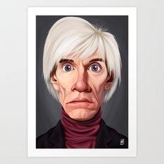 Celebrity Sunday ~ Andy Warhola Art Print