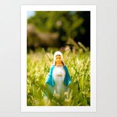 Aparición mariana Art Print