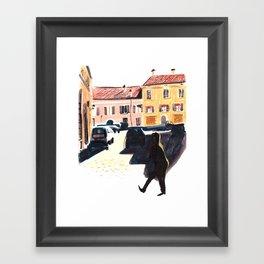 Morning in Italy Framed Art Print