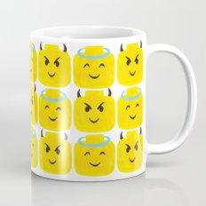 Emoji Minifigure Angel Devil Mug