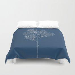 English Oak Blueprint Duvet Cover
