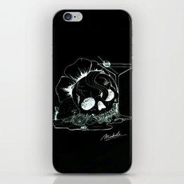 So sweet, you're drawing flies (Negative) iPhone Skin