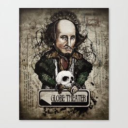 To be or not to be Canvas Print