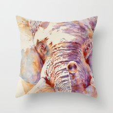 African Elephant _ The Governor Throw Pillow