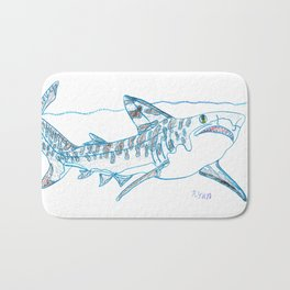 Tiger Shark II Bath Mat