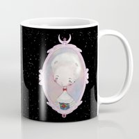 sailormoon Mugs featuring ♥18th century Sailor Moon♥ by Lili Um
