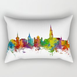Bern Switzerland Skyline Rectangular Pillow