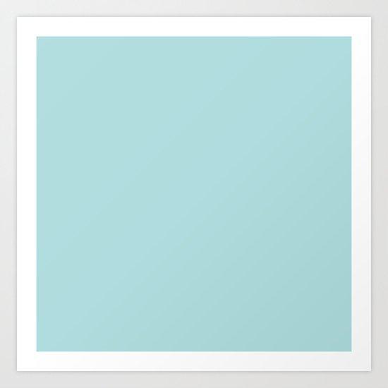 Robin's Egg Aqua Blue by podartist