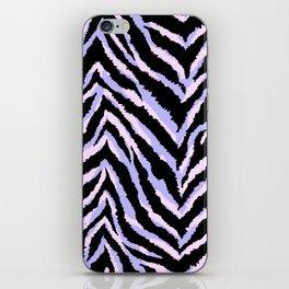 Zebra fur texture print II iPhone Skin
