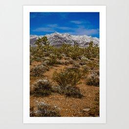 Desert Snow 4947 Art Print