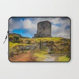 Dolbadarn Castle Llanberis Wales Laptop Sleeve