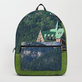 Prince of Wales Hotel in Waterton Lake Park Backpack