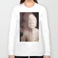 buddah Long Sleeve T-shirts featuring Buddah 1 by Linda K. Photography & Design