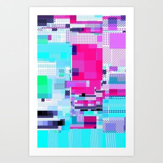 Mapping Art Print
