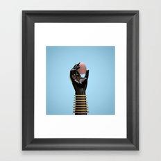 Cosmica y su huevo Framed Art Print
