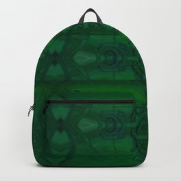 Patterns II Green Backpack