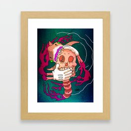 Jawed  Framed Art Print