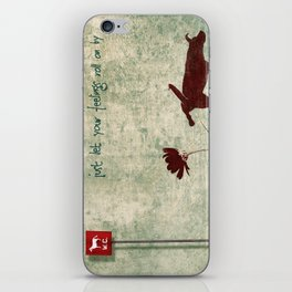 Don't be shy... iPhone Skin