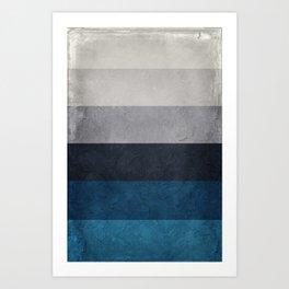 Greece Hues Art Print