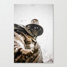 Roger Conant-Winter Canvas Print