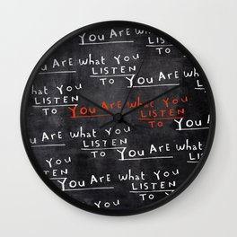 repeat with me Wall Clock